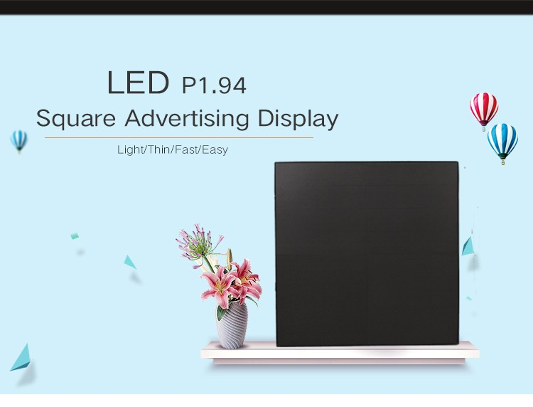 P1.92 P1.5625 front maintenance led display with nova system