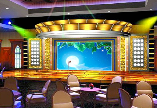 p3.91mm Indoor Rental Led Display Has Many Advantages In Application Of Restaurant