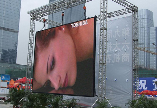 Waterproof Full Color Rental Led Billboard Advertising Led Display Constant Static