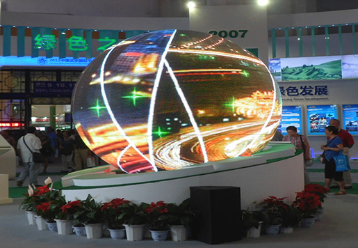 P6 Indoor Sphere Globe LED Display