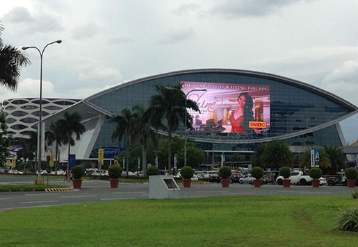 P31.25 LED Media Facade Display For outside building