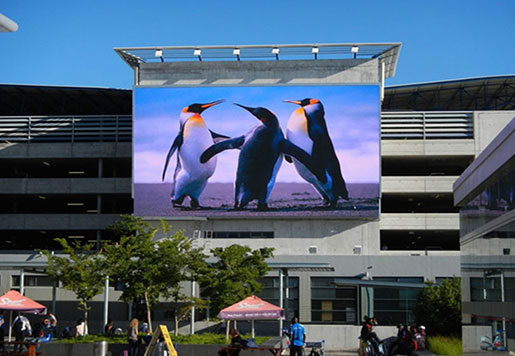 DIP P10 Outdoor LED Display Screen
