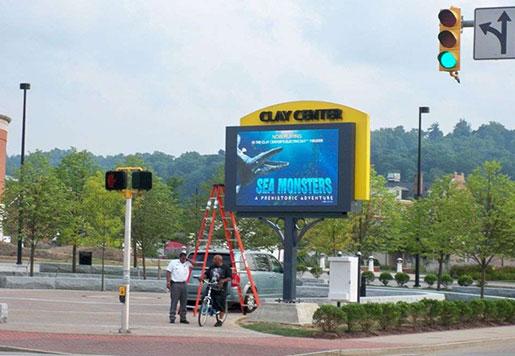DIP P12 Outdoor LED Display Screen