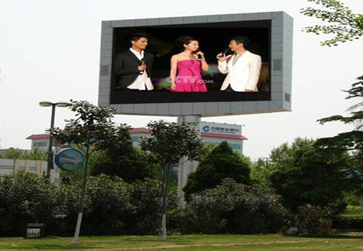 Double sided P10 Outdoor DIP RGB LED Display Screen