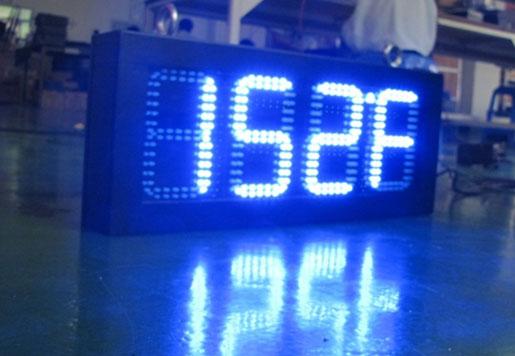 LED Time Clock Sign