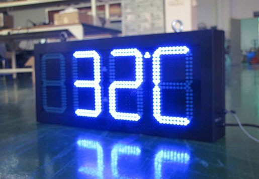 LED Time Clock Sign