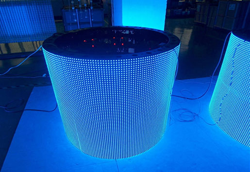360 Degree Round LED Screen