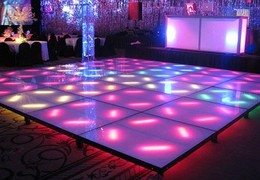 16mm Full Color LED Dance Floor
