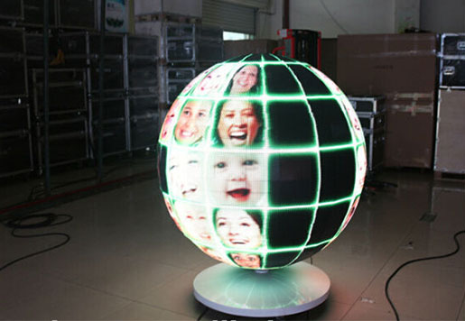 LED Video Ball