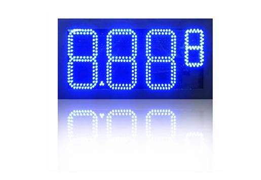 8.888 Oil LED Sign