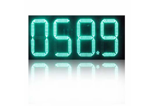 8.88910 LED Gas Sign