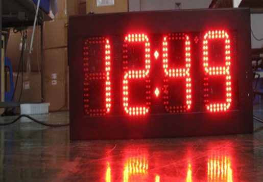 10 inch LED Time Sign