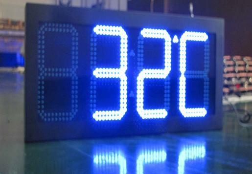 16 inch LED Time Sign