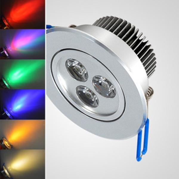 3w 5w 7w 6w 8w 12w 30w 25w 18w led down light 240v 110v 120v 230v silver