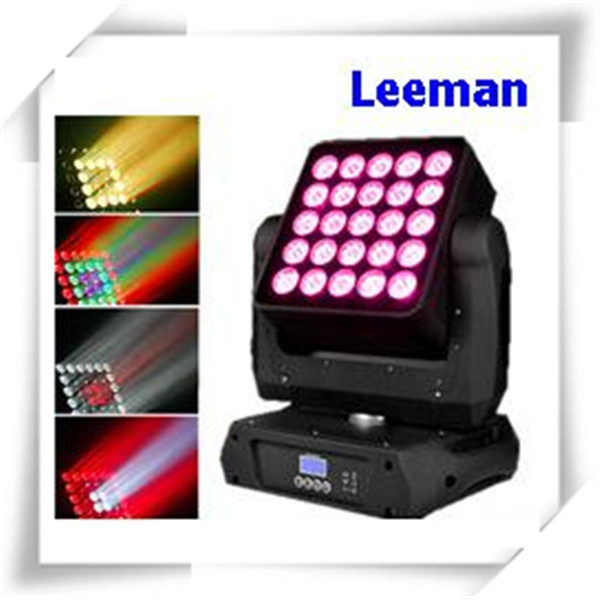 25x4in1 15w RGBW led matrix panel beam stage light moving head lighting with 15channel