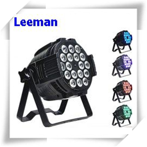 Pro dmx 6 in 1 rgbwa uv 6in1 18x18w wash 64 par can led par light