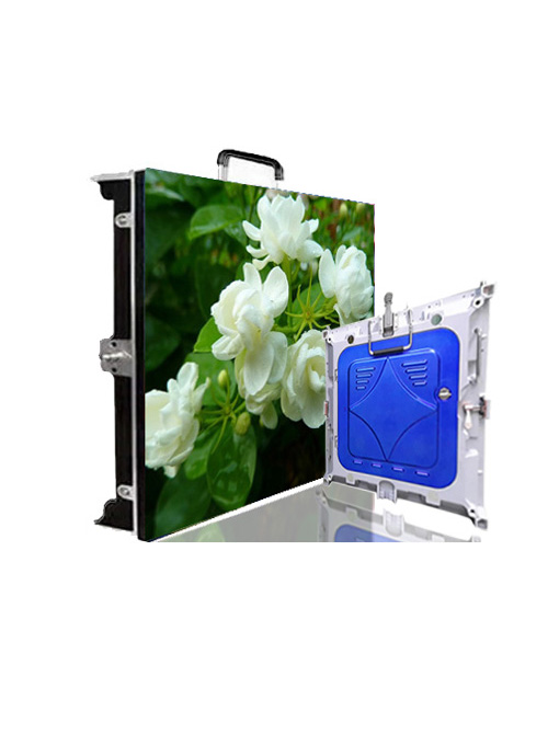 Rental P4 Indoor LED Display 512mm x 512mm die casting aluminum cabinet