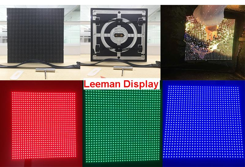 P6.67mm Waterproof Front Service LED Display Module 320mm x 320mm